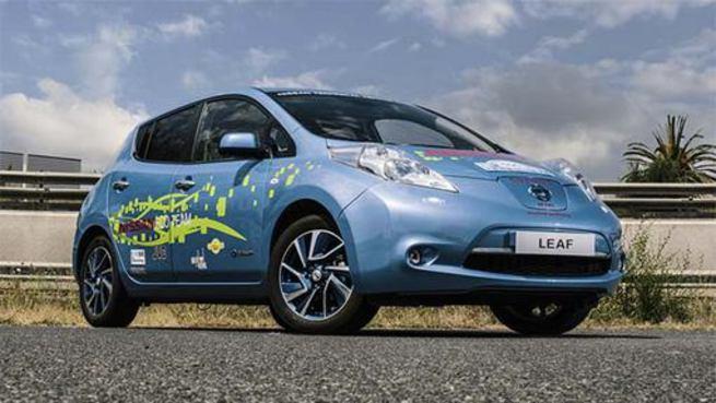 Инженеры Nissan доработали Leaf EV, добившись пробега в 241 км