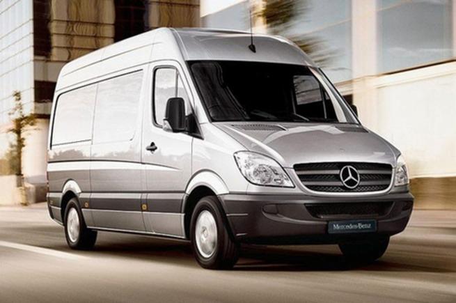 Mercedes-Benz планирует выпуск электрофицированной версии Sprinter Van