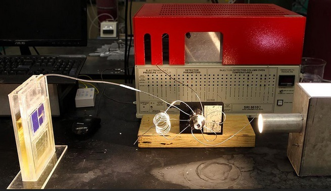 Новый солнечный элемент превращает CO2 топливо