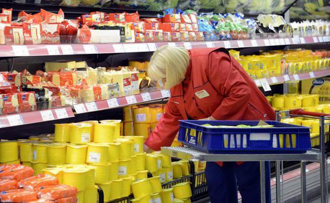 Русский набег на финский супермаркет